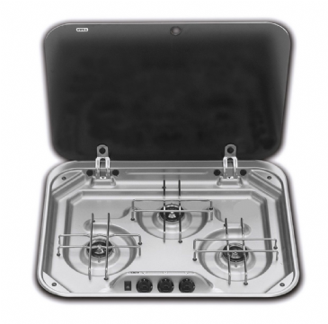 Dometic Smev 3 Burner with Glass Lid (8023)